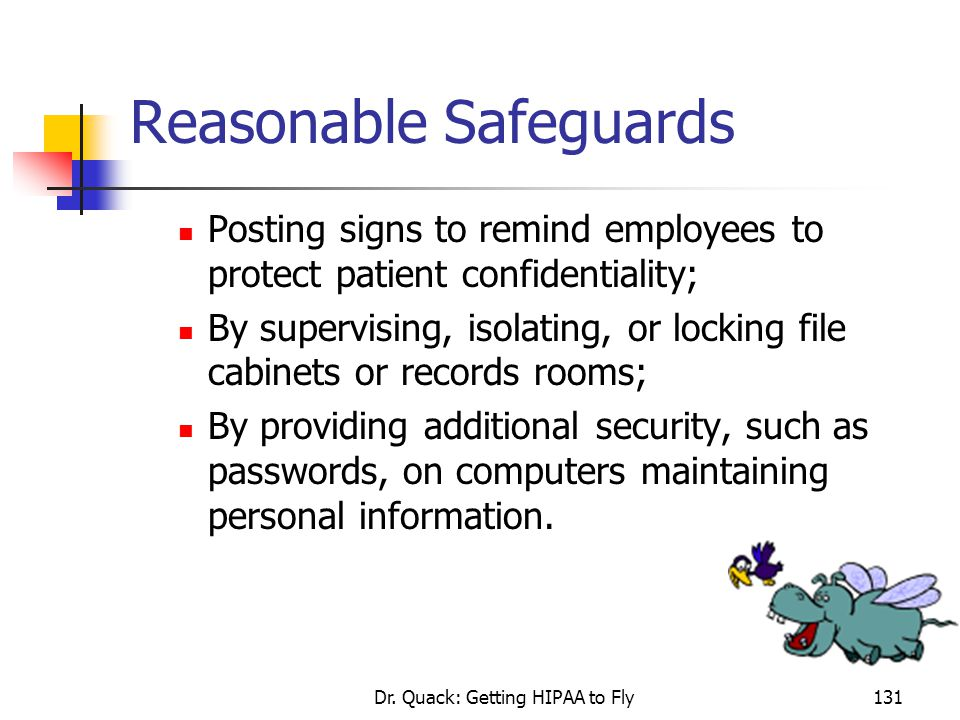 Reasonable Safeguards