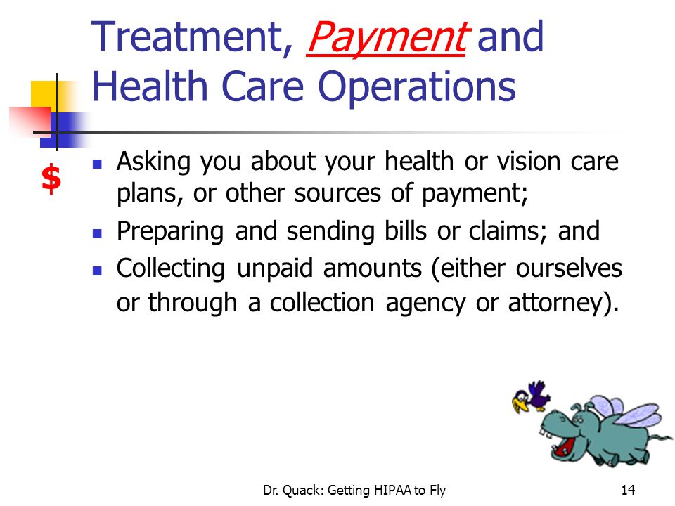 Treatment, Payment and Health Care Operations