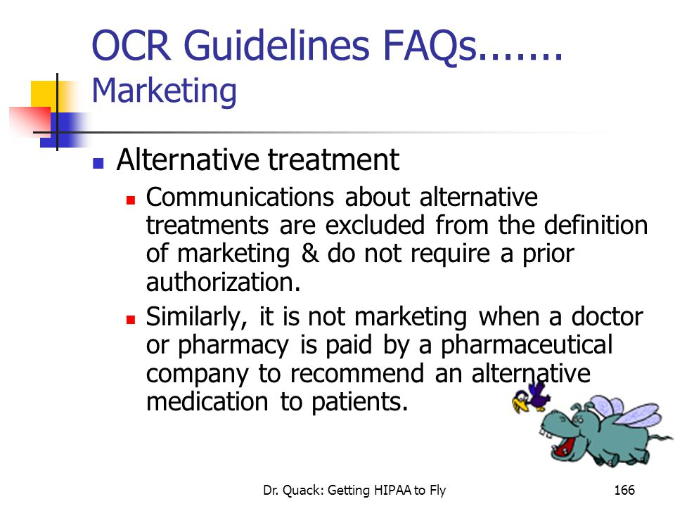 OCR Guidelines FAQs....... Marketing