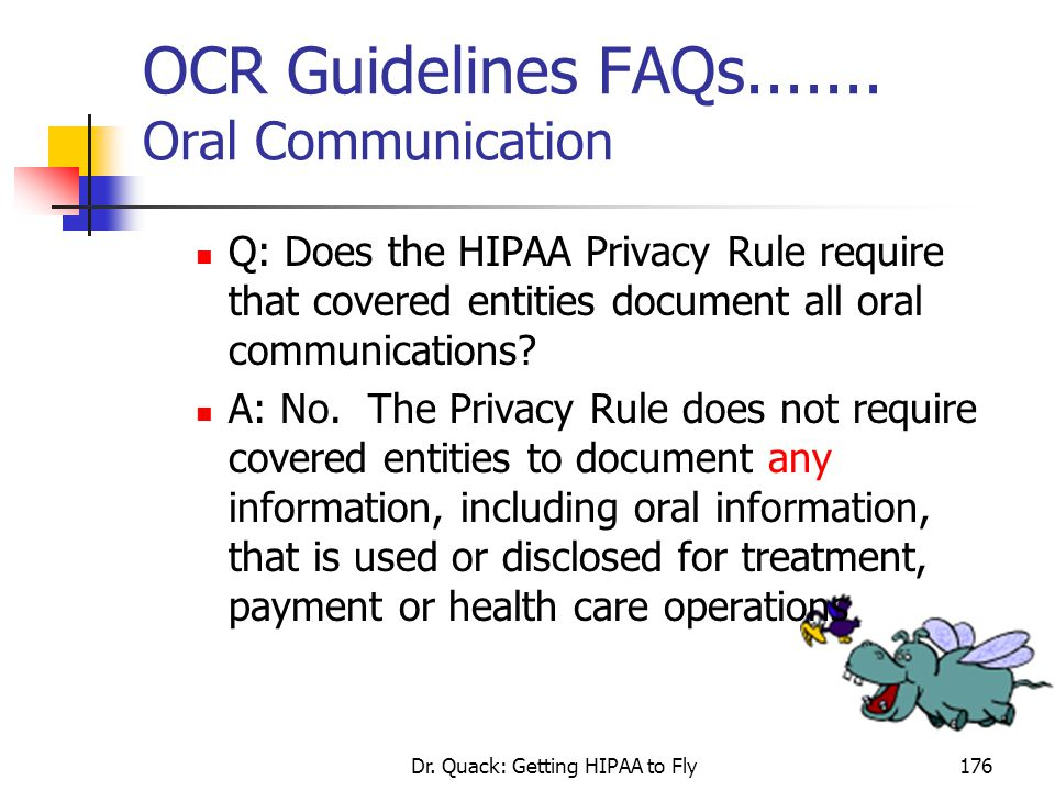 OCR Guidelines FAQs....... Oral Communication