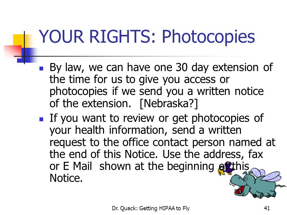 YOUR RIGHTS: Photocopies