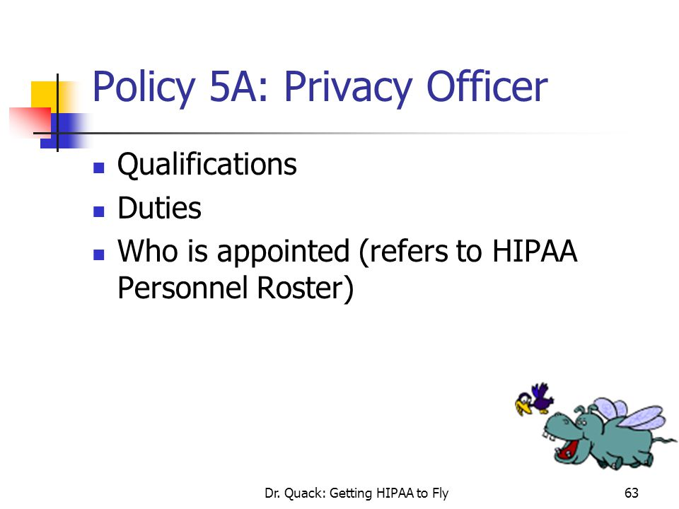 Policy 5A: Privacy Officer