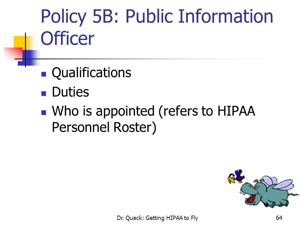 Policy 5B: Public Information Officer