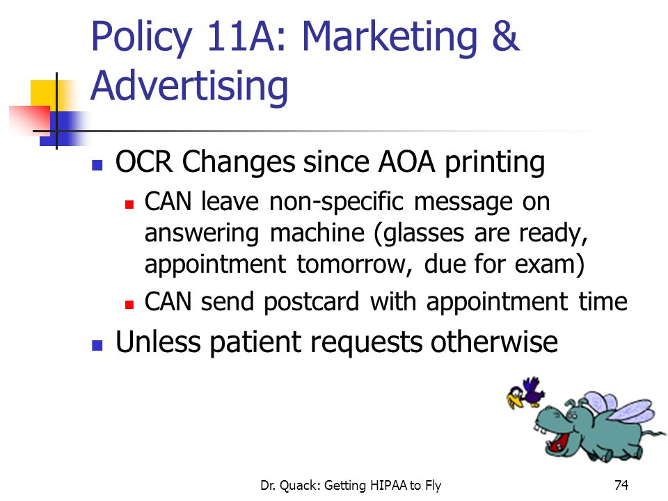 Policy 11A: Marketing & Advertising