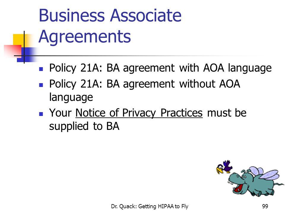 Business Associate Agreements