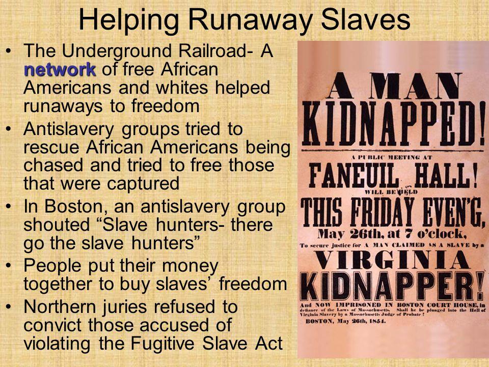 Helping Runaway Slaves