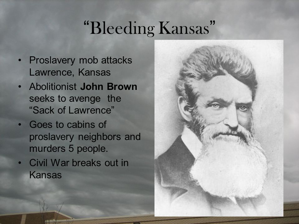 Bleeding Kansas Proslavery mob attacks Lawrence, Kansas