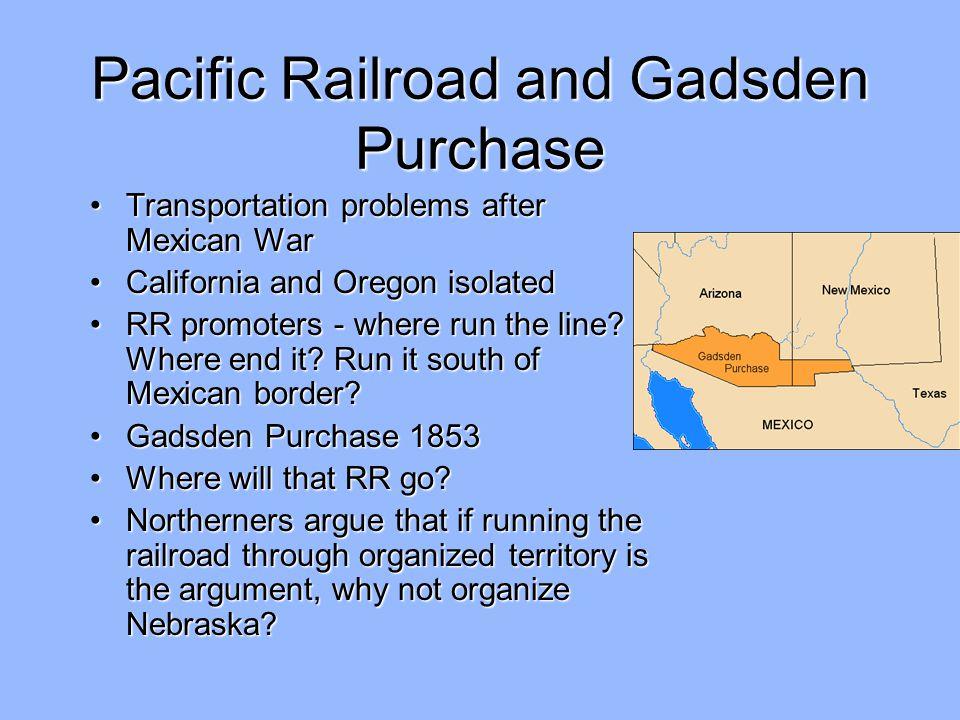 Pacific Railroad and Gadsden Purchase