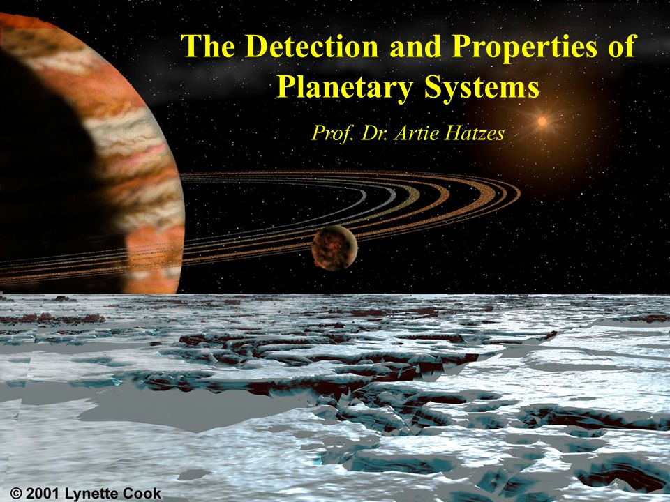 The Detection and Properties of Planetary Systems