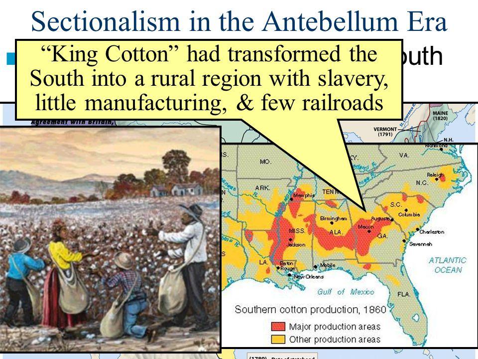 Sectionalism in the Antebellum Era