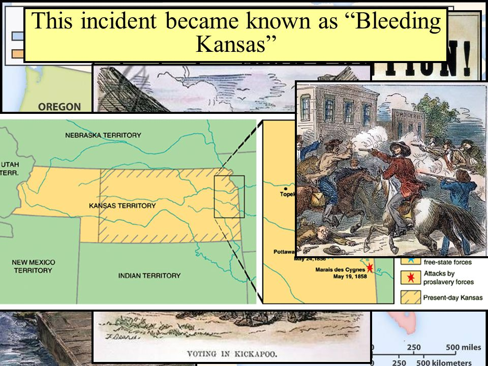 This incident became known as Bleeding Kansas