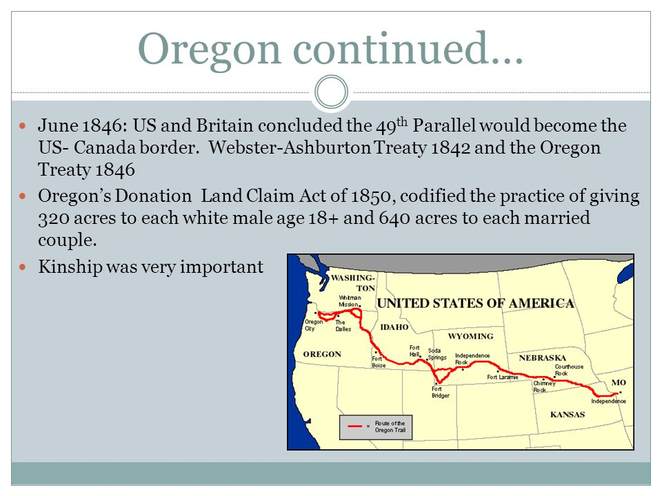Oregon continued…