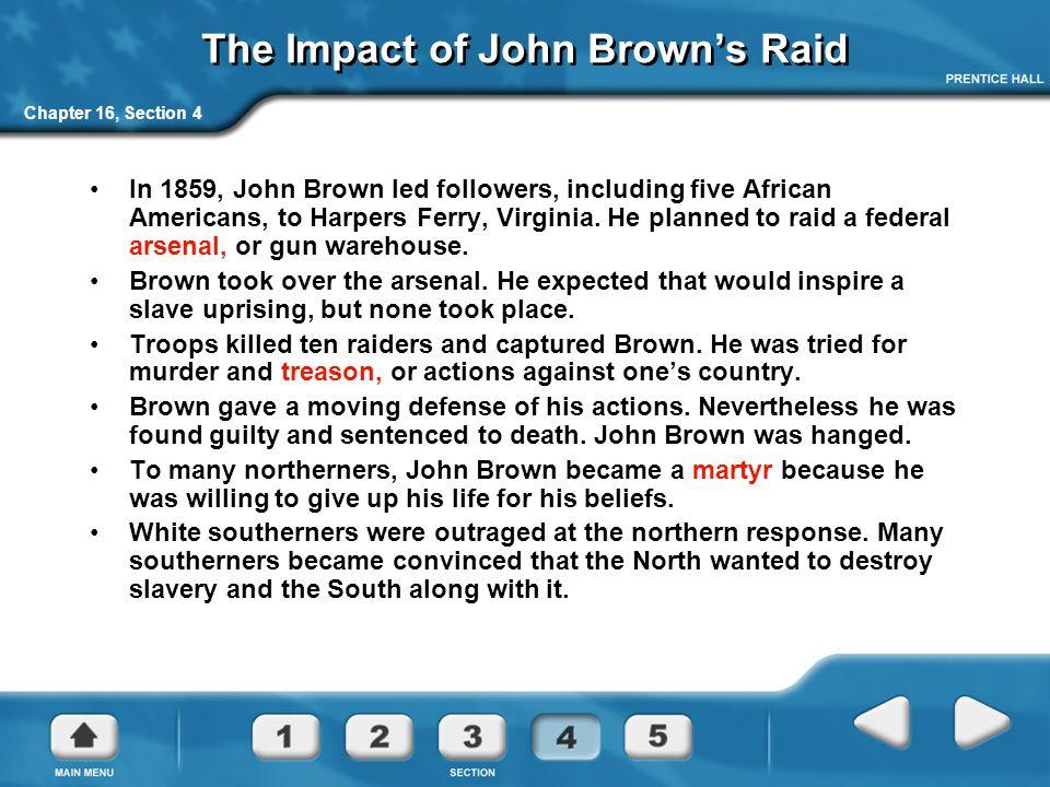 The Impact of John Brown's Raid