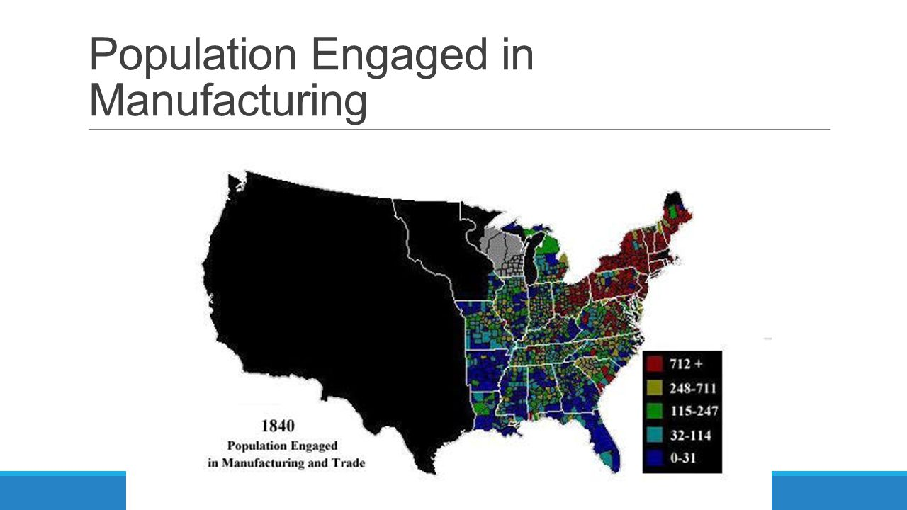 Population Engaged in Manufacturing
