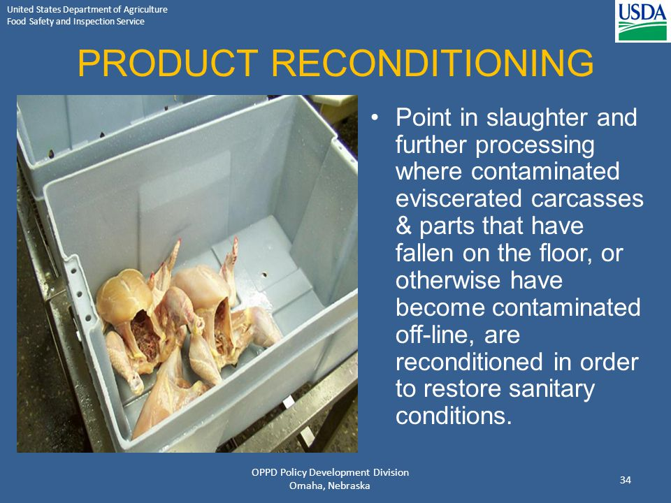 PRODUCT RECONDITIONING