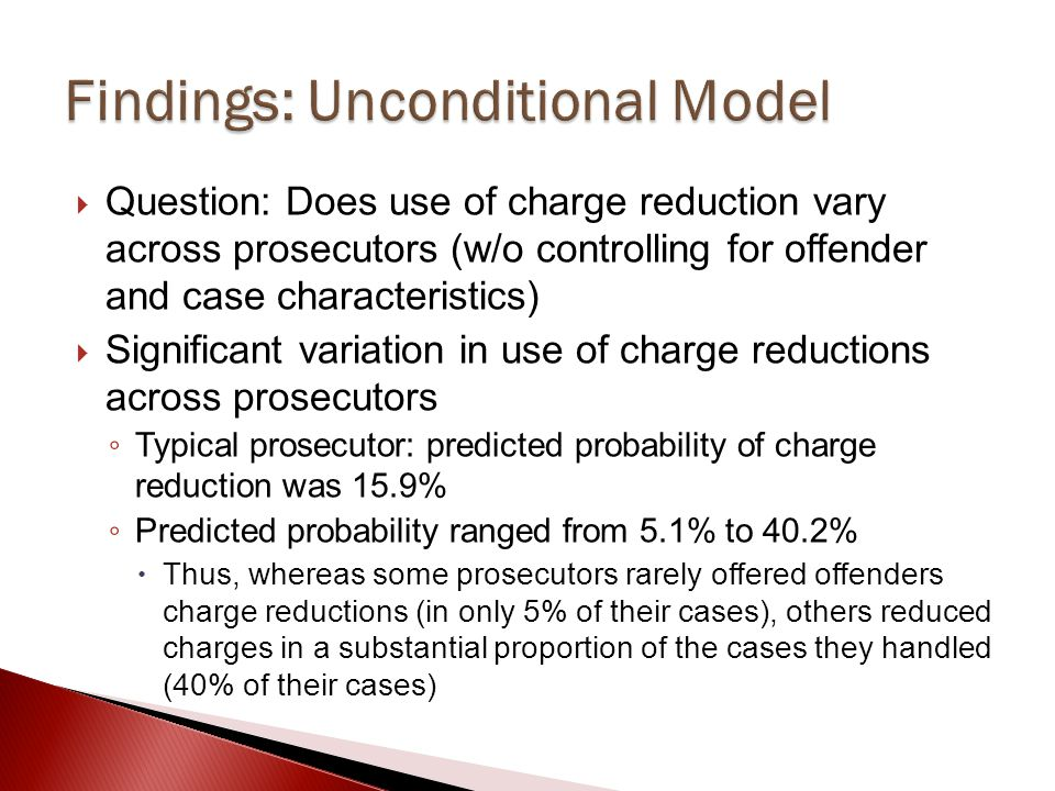 Findings: Unconditional Model