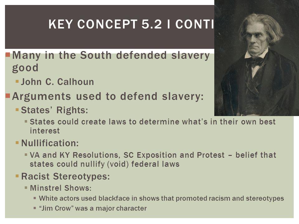 Key Concept 5.2 I Continued