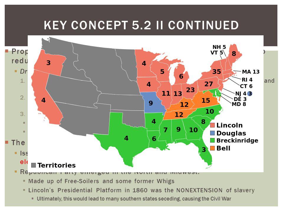 Key Concept 5.2 II Continued