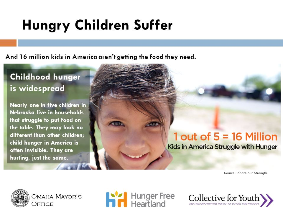 Hungry Children Suffer