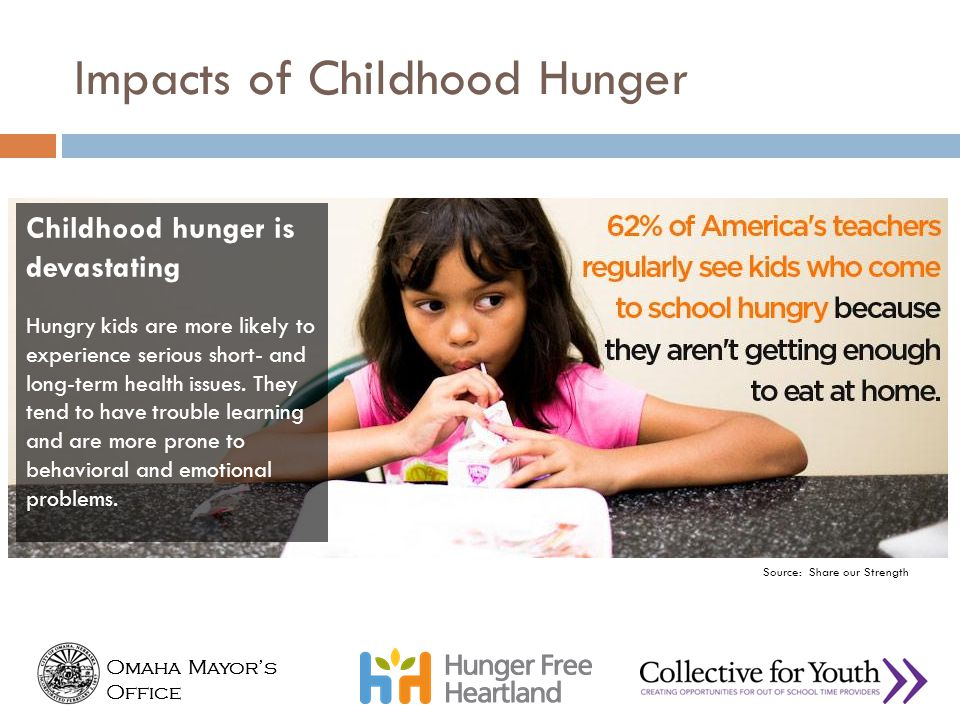 Impacts of Childhood Hunger
