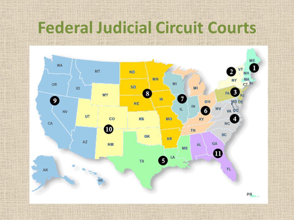 Federal Judicial Circuit Courts