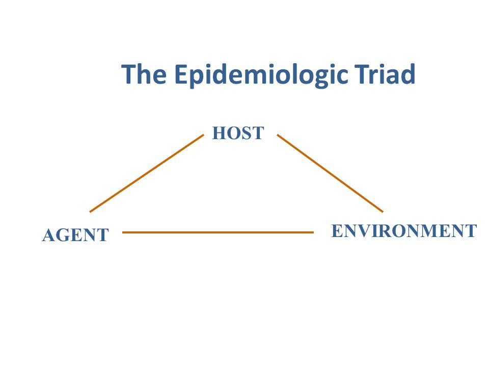 The Epidemiologic Triad