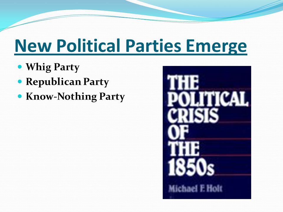 New Political Parties Emerge
