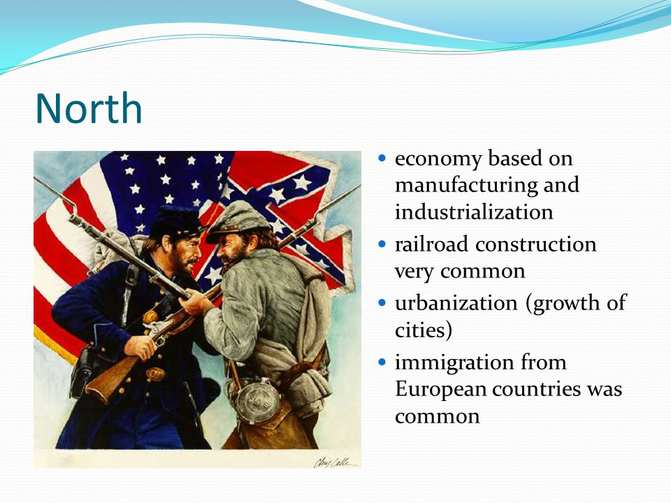 North economy based on manufacturing and industrialization