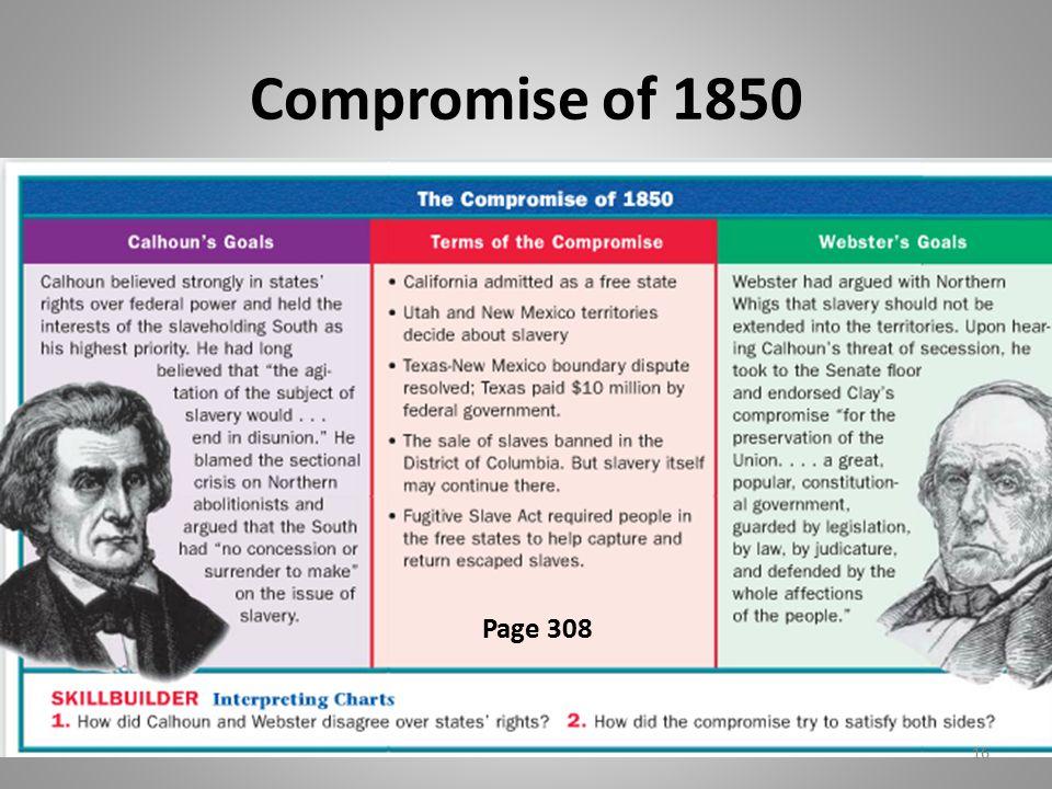 Compromise of 1850 Description