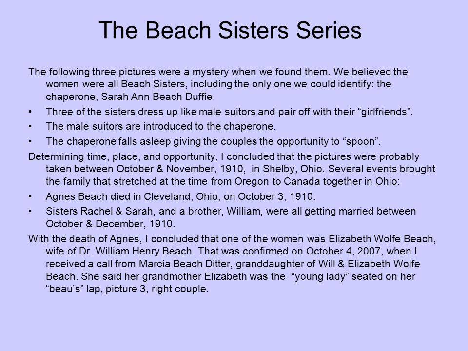 The Beach Sisters Series