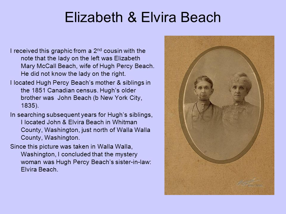 Elizabeth & Elvira Beach