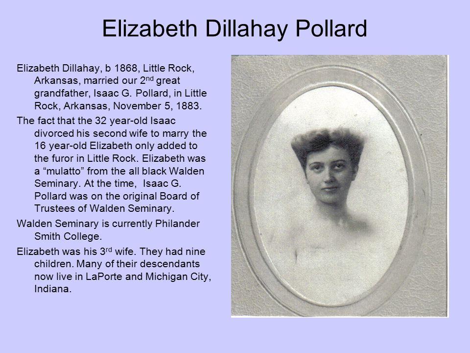 Elizabeth Dillahay Pollard