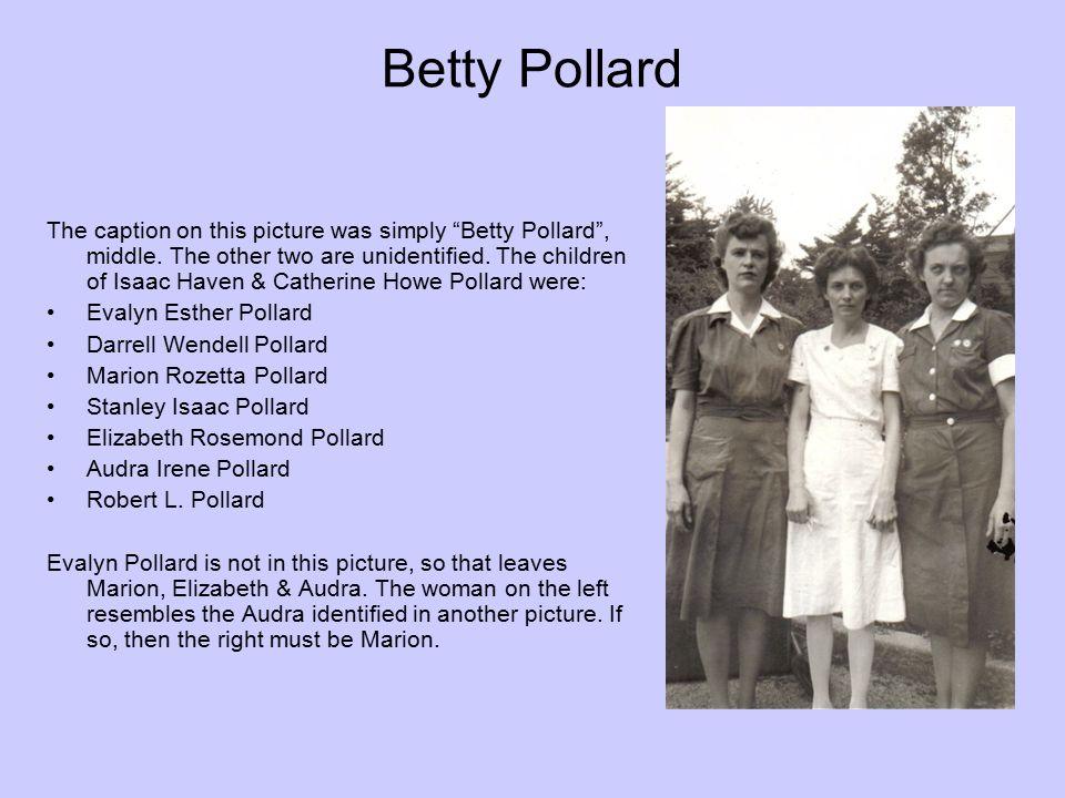 Betty Pollard