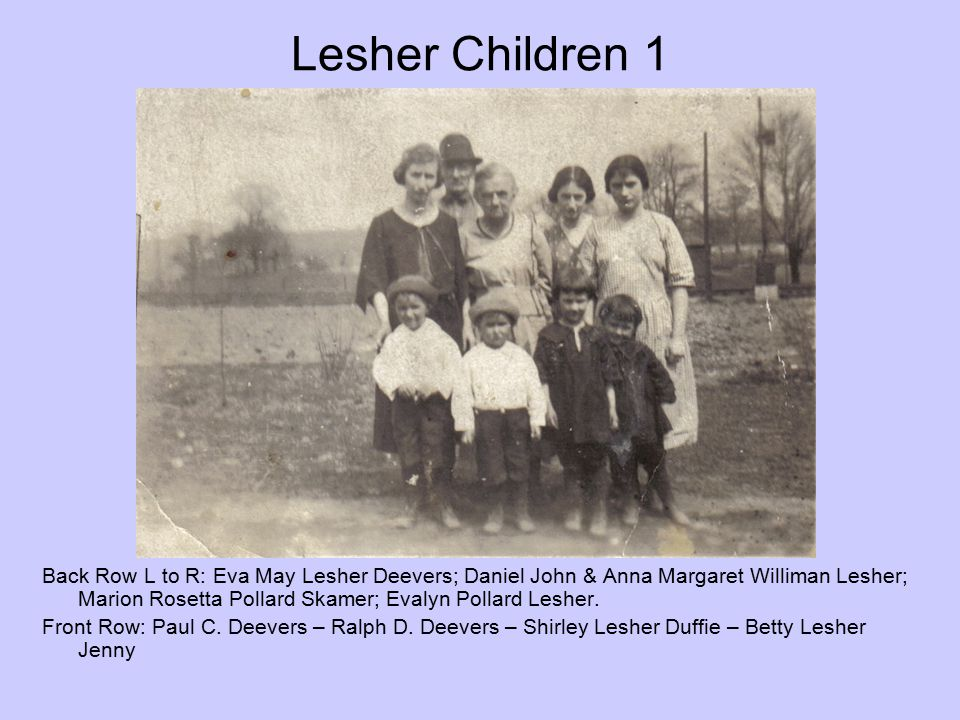 Lesher Children 1