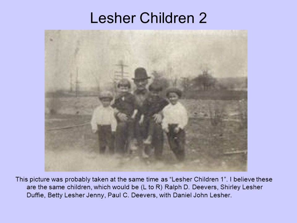 Lesher Children 2