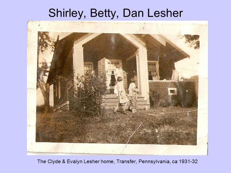 Shirley, Betty, Dan Lesher