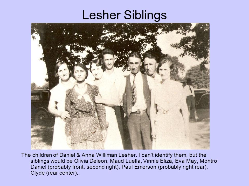 Lesher Siblings