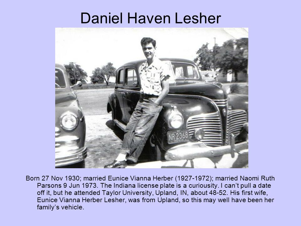 Daniel Haven Lesher