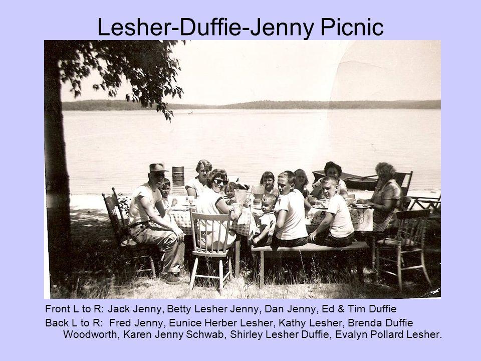 Lesher-Duffie-Jenny Picnic
