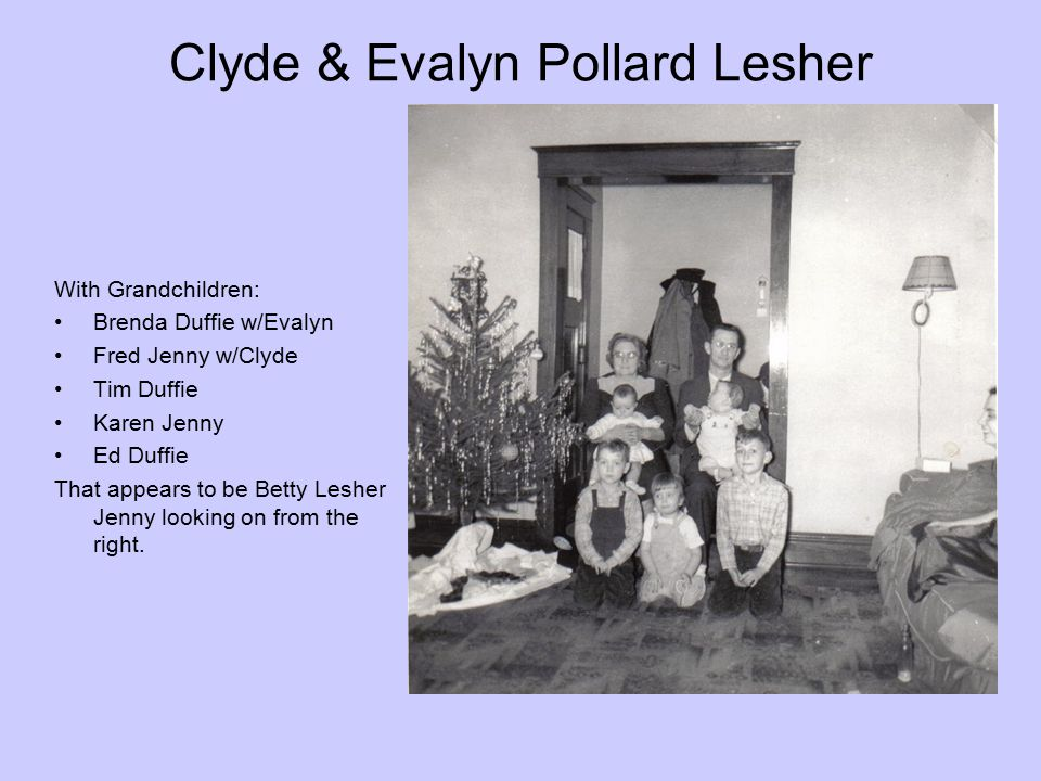 Clyde & Evalyn Pollard Lesher