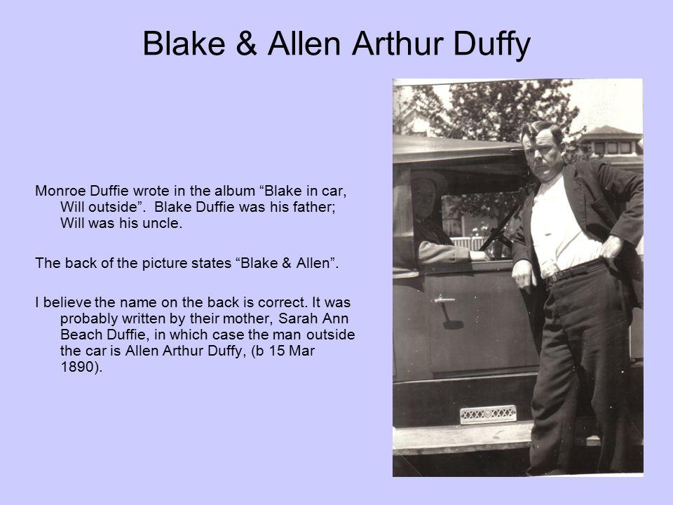 Blake & Allen Arthur Duffy
