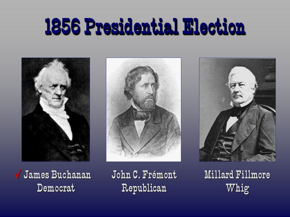 1856 Presidential Election
