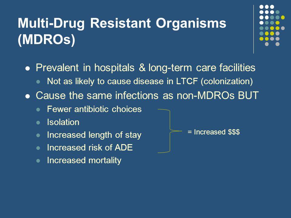 Multi-Drug Resistant Organisms (MDROs)
