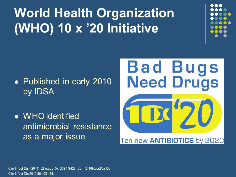 World Health Organization (WHO) 10 x '20 Initiative