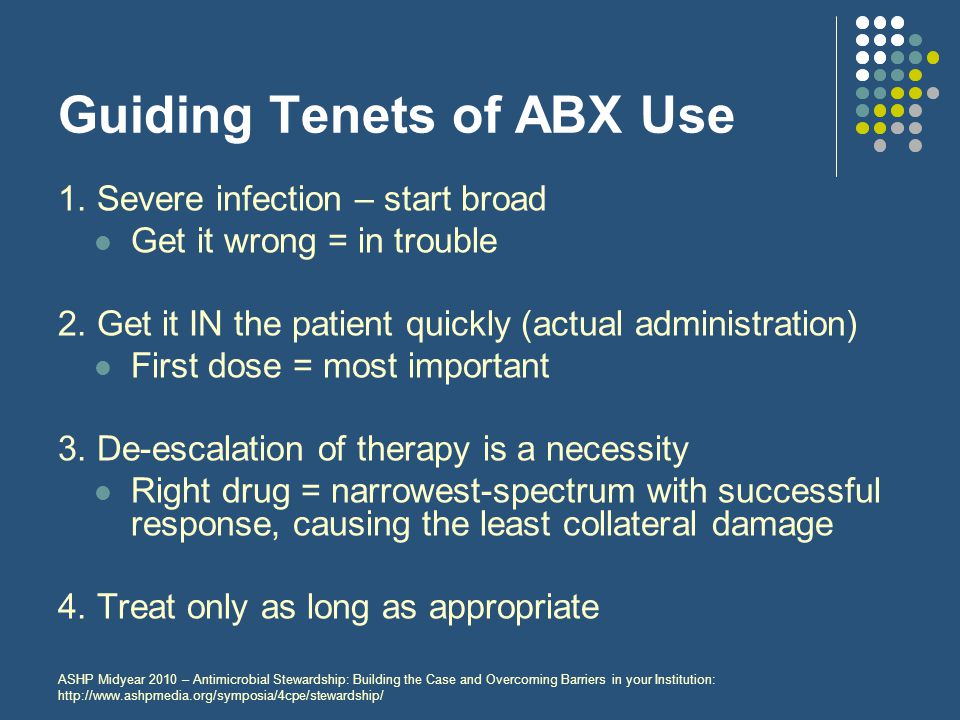 Guiding Tenets of ABX Use