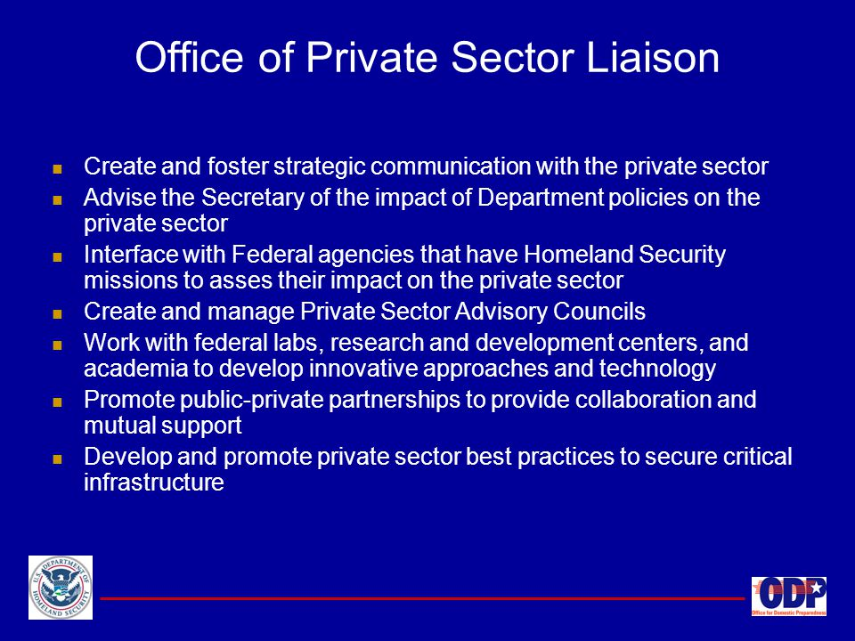 Office of Private Sector Liaison