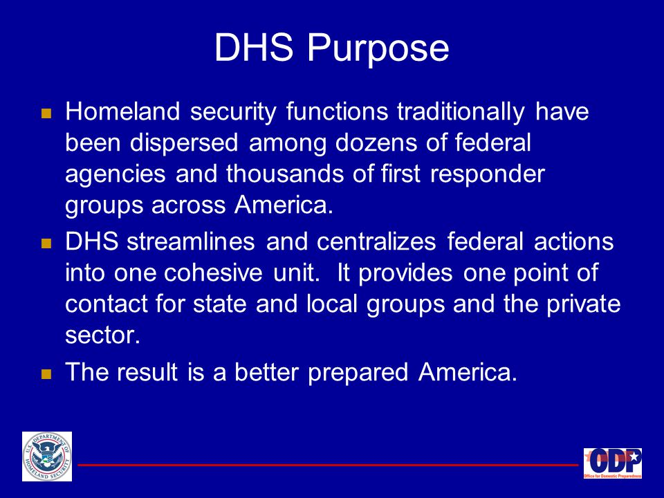 U.S. Department of Homeland Security - ppt download