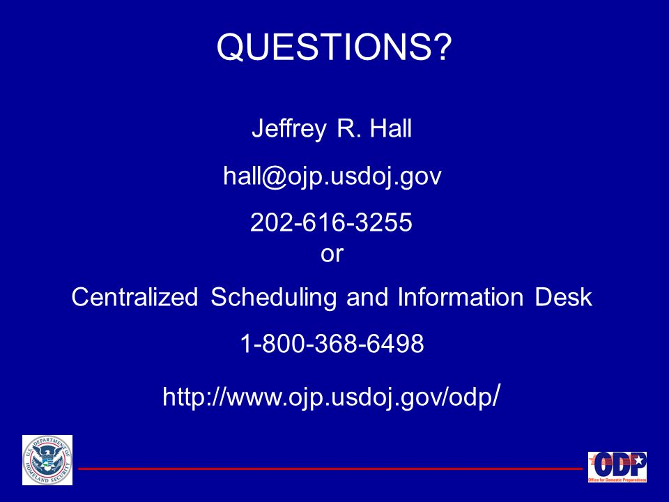 Centralized Scheduling and Information Desk