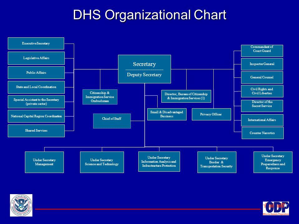 DHS Organizational Chart