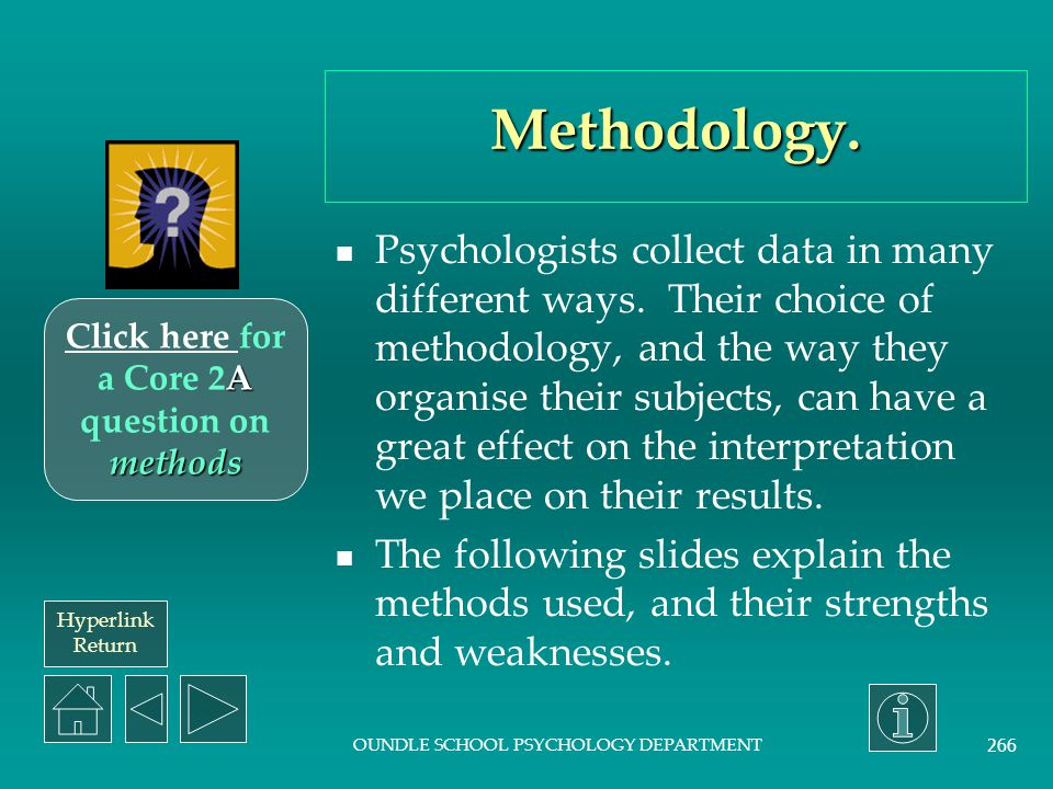 Click here for a Core 2A question on methods